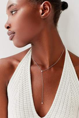 Urban Outfitters Ariella Opal Lariat Necklace