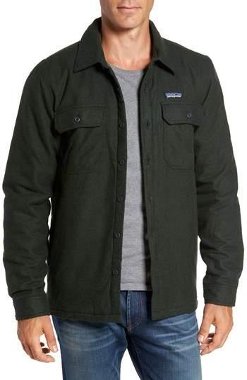 'Fjord' Flannel Shirt Jacket