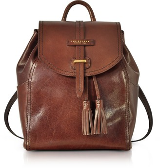 The Bridge Florentin Brown Medium Backpack w/Tassels