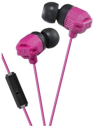 JVC Pink In-Ear Xtreme Bass Mic & Remote Headphones