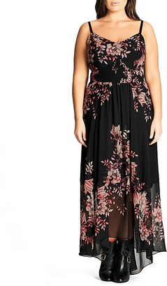 City Chic Antique Floral Maxi Dress $119 thestylecure.com