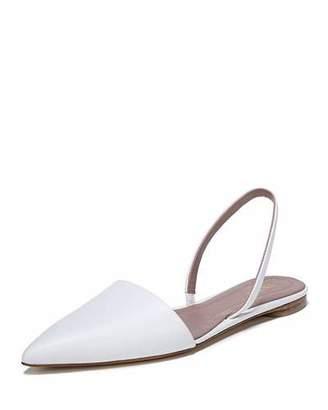 Diane von Furstenberg Koko Slingback Ballet Flat, White