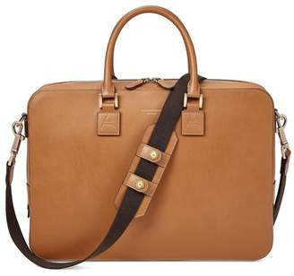Aspinal of London Small Mount Street Bag In Smooth Tan
