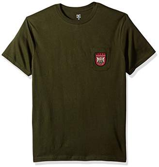 DC Men's Barkly Pocket Short Sleeve Tee Shirt