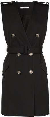 Givenchy belted double-breasted dress