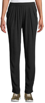 Michael Kors Silk-Georgette Jogger Pants