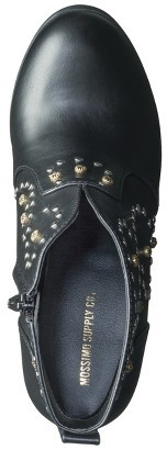 Boots Women's Mossimo Supply Co. Karis Studded Ankle Black
