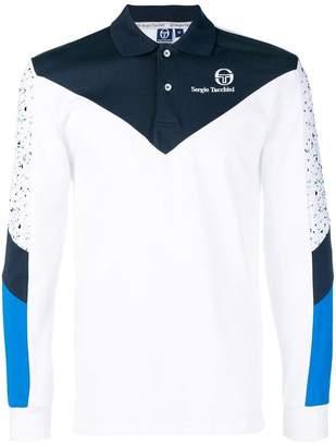 Sergio Tacchini colour block polo shirt