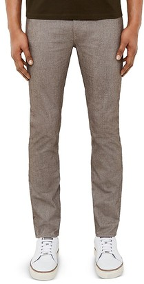 Ted Baker Twill Design Slim Fit Trousers $185 thestylecure.com