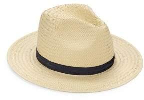 Karl Lagerfeld Panama Straw Hat