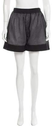 Nomia Elasticized Mesh-Trim Shorts