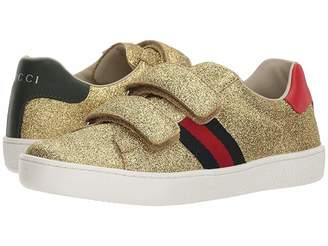 Gucci Kids New Ace V.L. Sneakers (Little Kid)