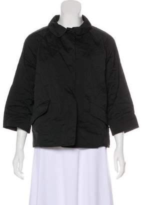 Miu Miu Long Sleeve Lightweight Jacket