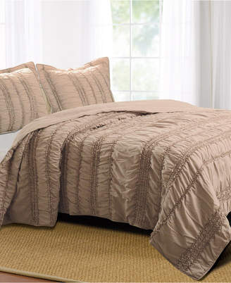 Greenland Home Fashions Tiana Quilt Set, 2-Piece Twin