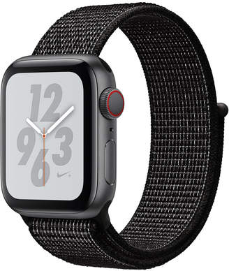 Apple Watch Nike+ Series 4 Gps + Cellular, 40mm Space Gray Aluminum Case with Black Nike Sport Loop