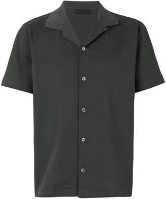 Prada open collar bowling shirt