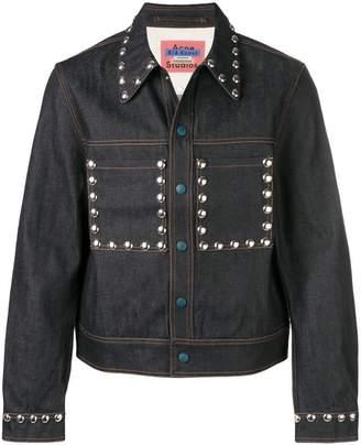 Acne Studios studded denim jacket