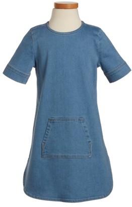Toddler Girl's Tucker + Tate Denim Shift Dress $39 thestylecure.com