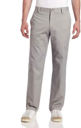 Dockers Easy D2 Straight Fit Flat Front Pant, British Khaki, 30x30