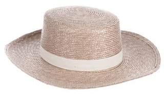 Janessa Leone Calla Straw Hat w/ Tags
