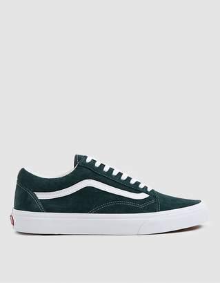 Vans Suede Old Skool Sneaker in Darkest Spruce
