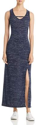 Andrew Marc Performance Space-Dyed Maxi Dress