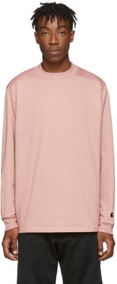 Carhartt Work In Progress Pink Highneck Boxwood Long Sleeve T-Shirt