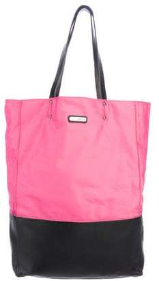 Rebecca Minkoff Leather-Trimmed Nylon Tote