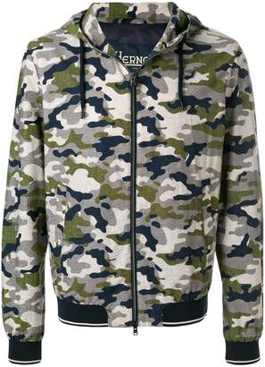 Herno military print jacket
