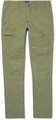 J.Crew Cotton-ripstop Cargo Trousers - Green
