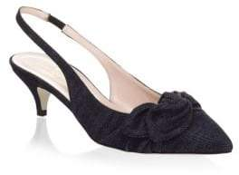 Kate Spade New York Ophelia Denim Slingback Pumps