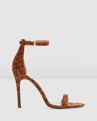 Topshop Susie Skinny 2-Part Heels