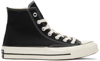 Converse Black Chuck Taylor All Star 1970s High-Top Sneakers