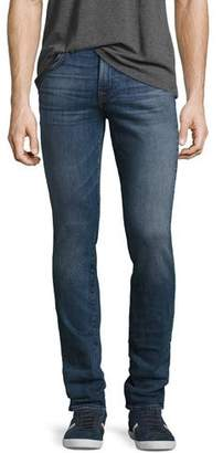 7 For All Mankind Men's Paxtyn Skinny Jeans, Medium Blue