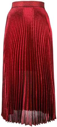 Christopher Kane pleated midi skirt