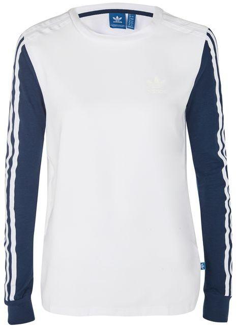 adidasAdidas originals 3 stripe long sleeve t-shirt