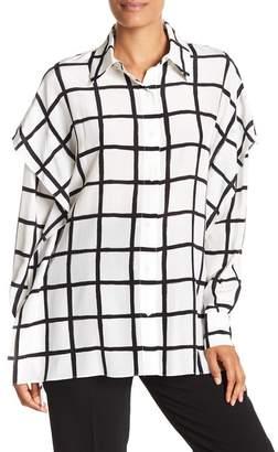 Diane von Furstenberg Long Sleeve Button Down Shirt