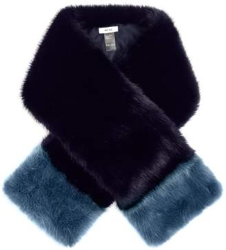 Reiss Irving Faux-Fur Scarf