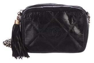 Chanel Lizard Mini Camera Bag