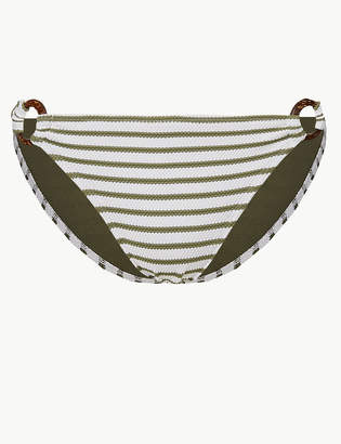 Marks and Spencer Striped Hipster Bikini Bottoms