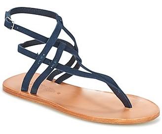 NDC GOKHAR women's Sandals in Blue