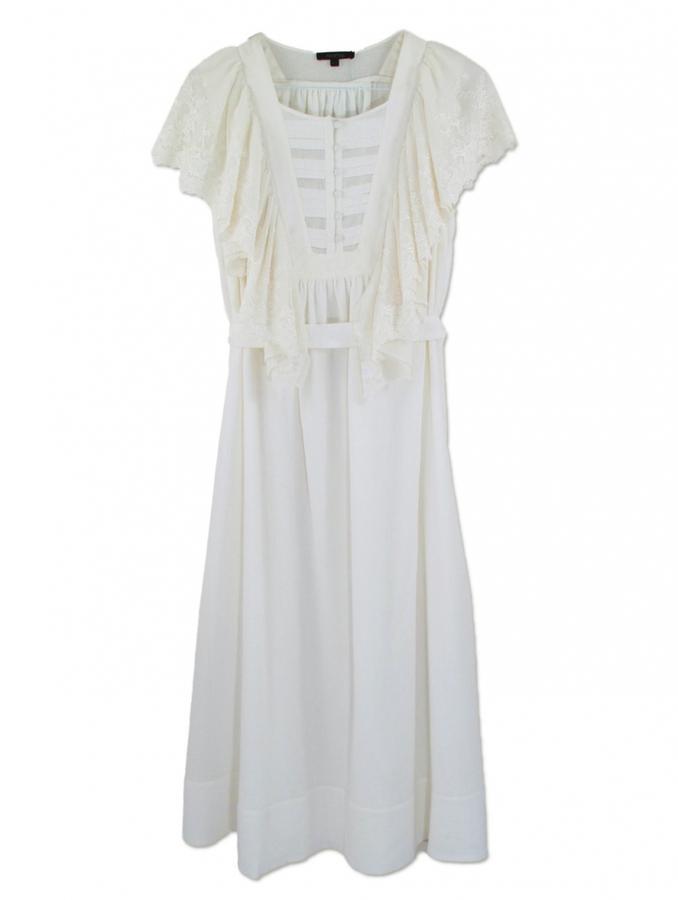 Alice Ritter Nuria White Lace Dress