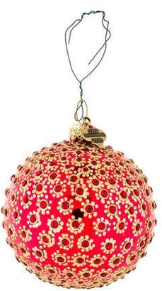 Jay Strongwater Embellished Holiday Ornament