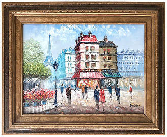 One Kings Lane Vintage Eiffel Tower - Paris in Summer - William Jeffrey Gallery Art