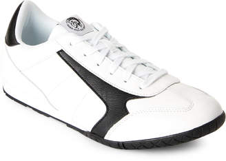 Diesel White & Black Claw Action Actwyngs Casual Sneakers