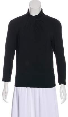 Armani Collezioni Knit Long Sleeve Top