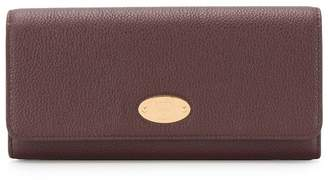 Mulberry logo plaque long wallet