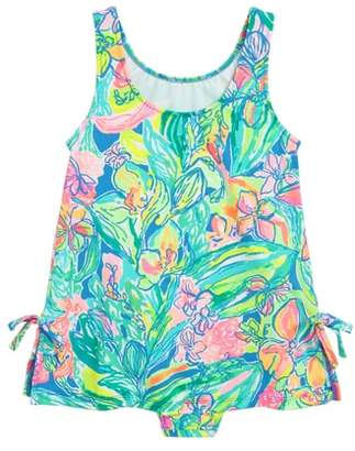 Lilly Pulitzer R) Little Lilly One-Piece Swimsuit