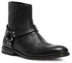 Frye Sam Ring Strap Leather Ankle Boots