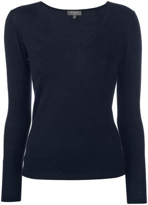 N.Peal cashmere plain top